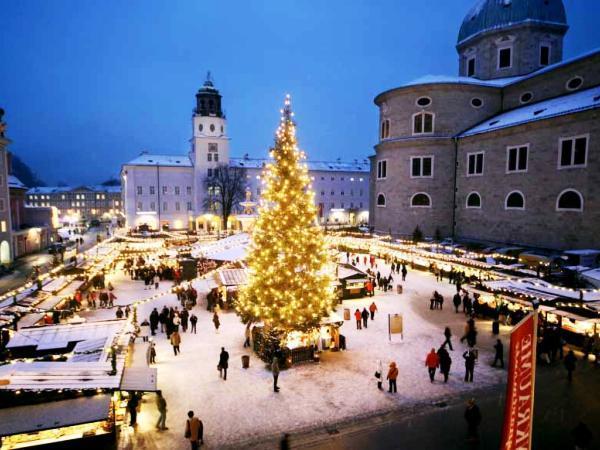 Mercatino Di Natale A Salisburgo Foto.Offerte Viaggio Scontate Mercatini Di Natale A Salisburgo