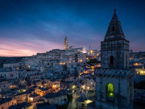 Presepe a Matera con partenza da Roma